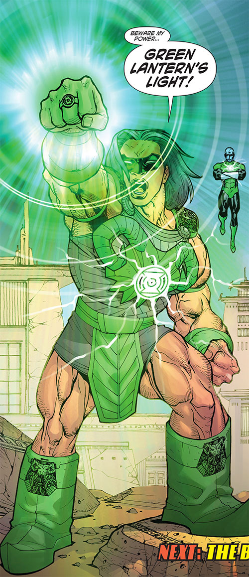 Green Lantern Kho of the Khund (Wonder Woman ally) (DC Comics)