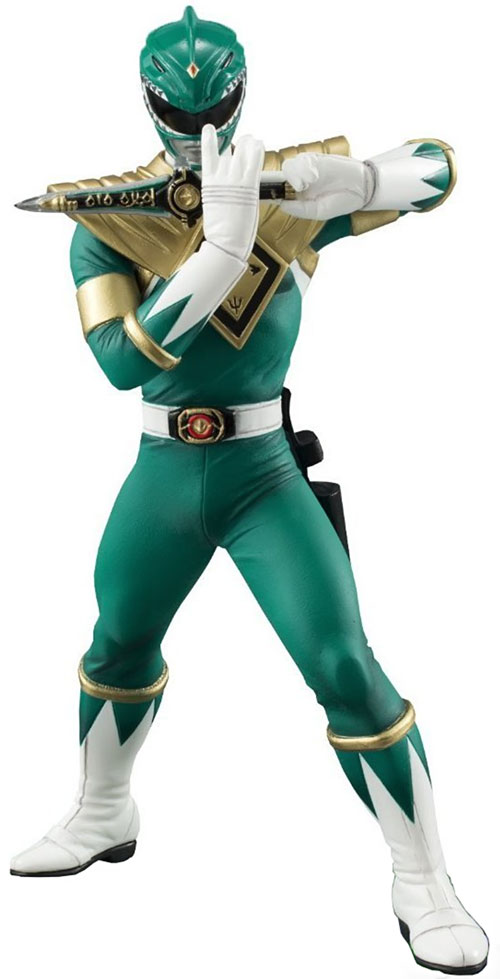Green Ranger (Tommy Oliver) of the Mighty Morphin' Power Rangers