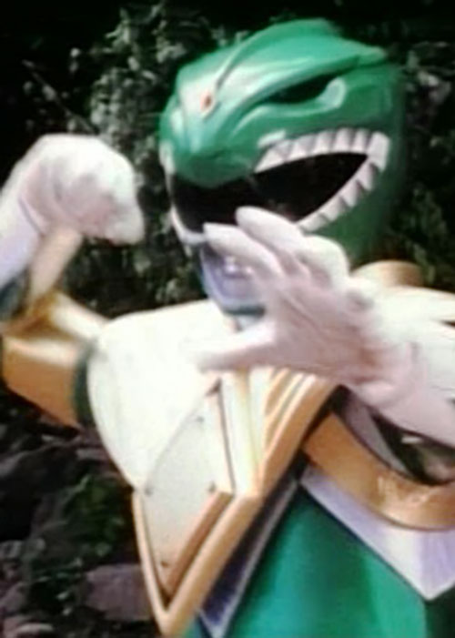 Green Ranger (Tommy Oliver) profile - Mighty Morphin Power Ranger