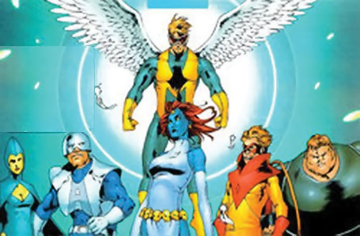 The Mimic and Freedom Force (Marvel Comics)