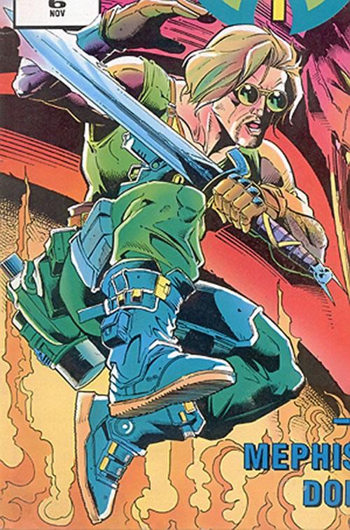 Gregory of the Warheads (Marvel Comics UK)