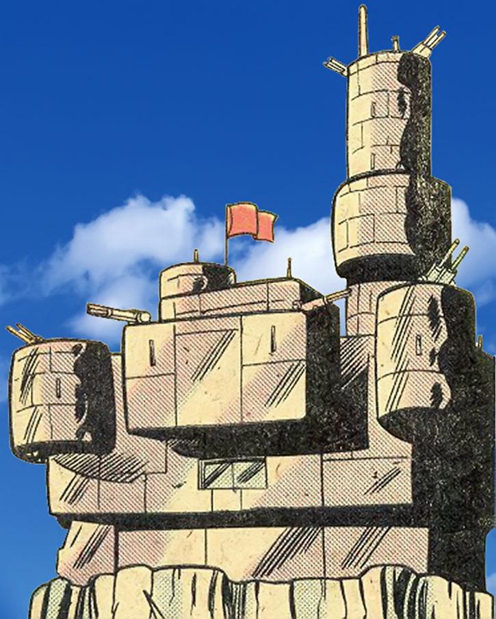 The Gremlin (Kondrati Topolov)'s fortress