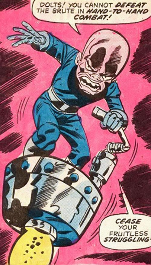 Gremlin (Marvel Comics) on a tiny jet platform