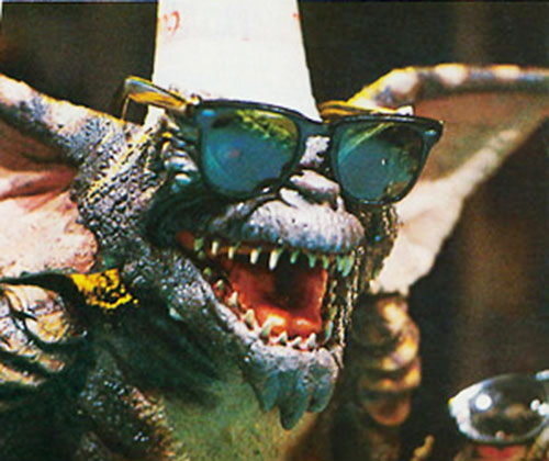 Gremlin (movies) with sunglasses