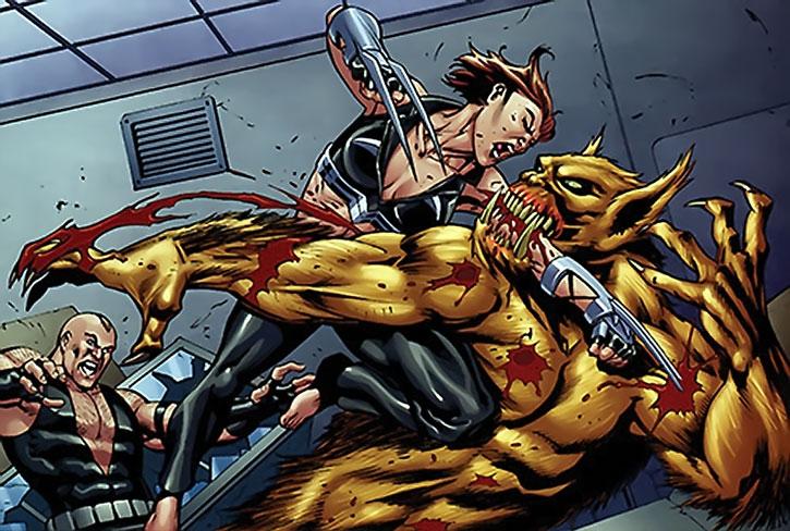 Grendel vs. Scandal Savage and Bane