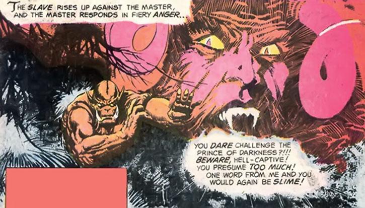 Grendel vs. Satan