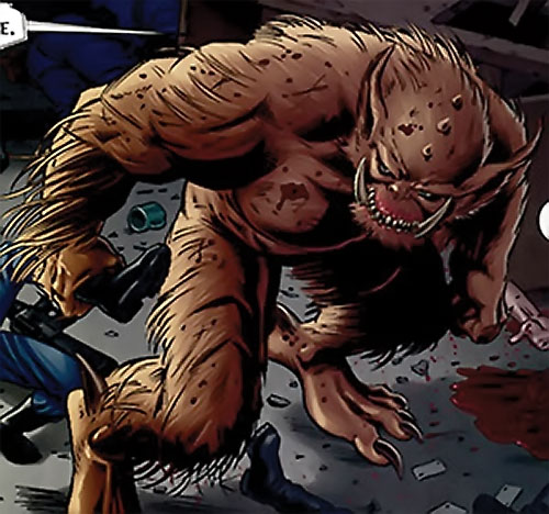 Grendel (Beowulf / Wonder Woman enemy) (DC Comics) the blood beast