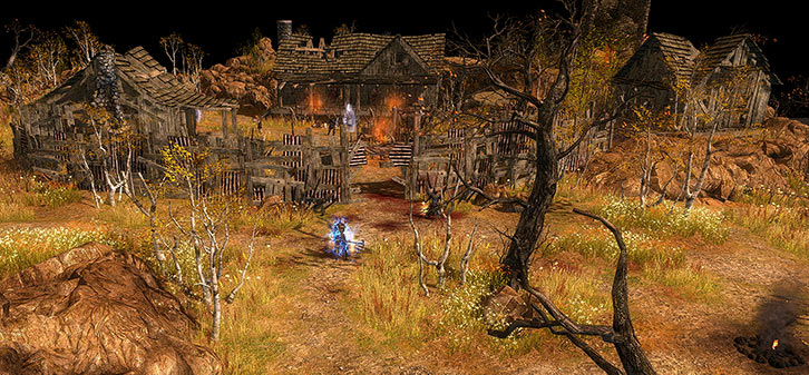 Grim Dawn - The gang fort in Old Arkovia near Devil's Crossing