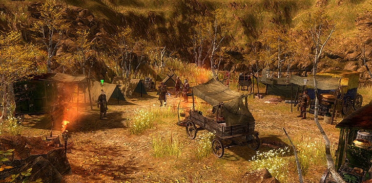 Grim Dawn - Camp of Rovers in Arkovia