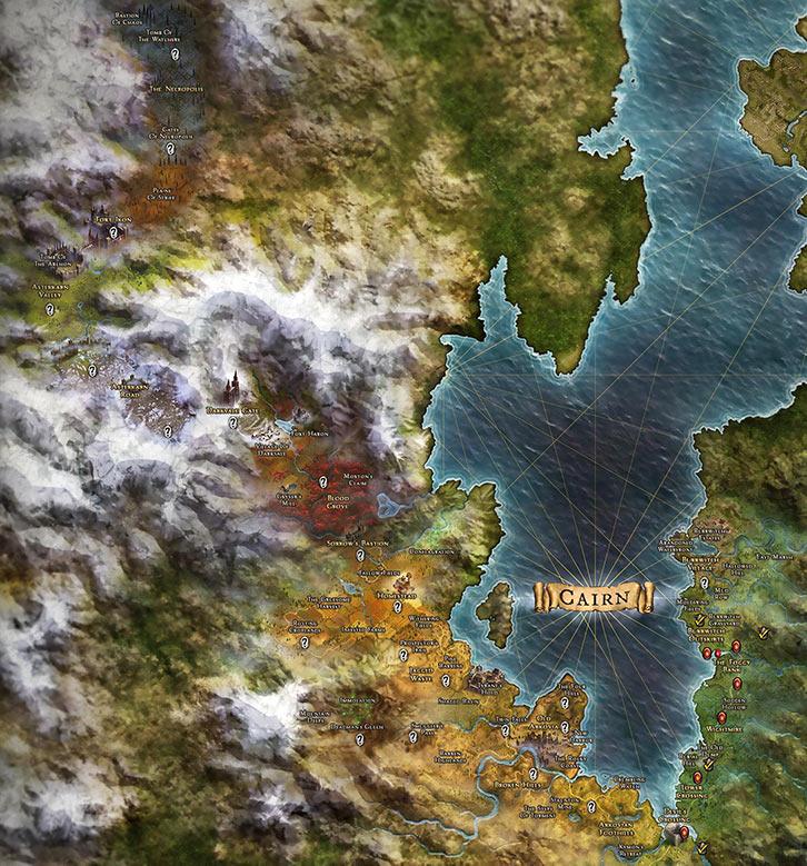 Grim Dawn - Map - pre-DLC - World