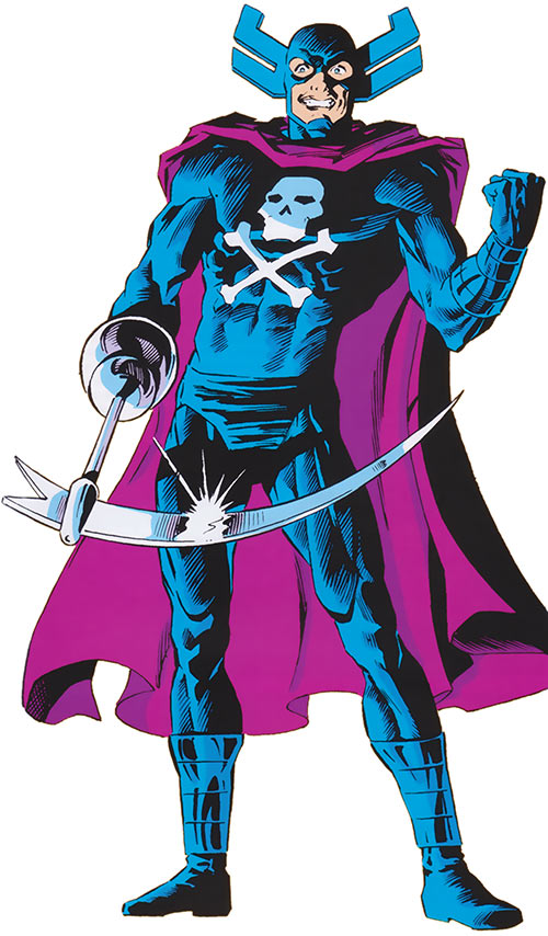 Grim Reaper (Avengers enemy) (Marvel Comics) from the 1985 official handbook