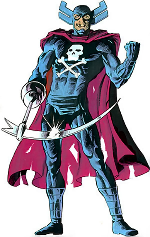 Grim Reaper (Avengers villain) (Marvel Comics) as a zombie