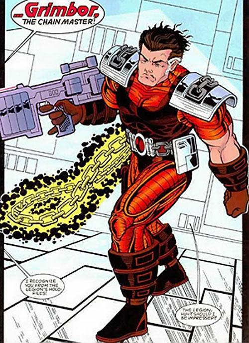 Grimbor (Legion of Super-Heroes enemy) (DC Comics) during the 1990s