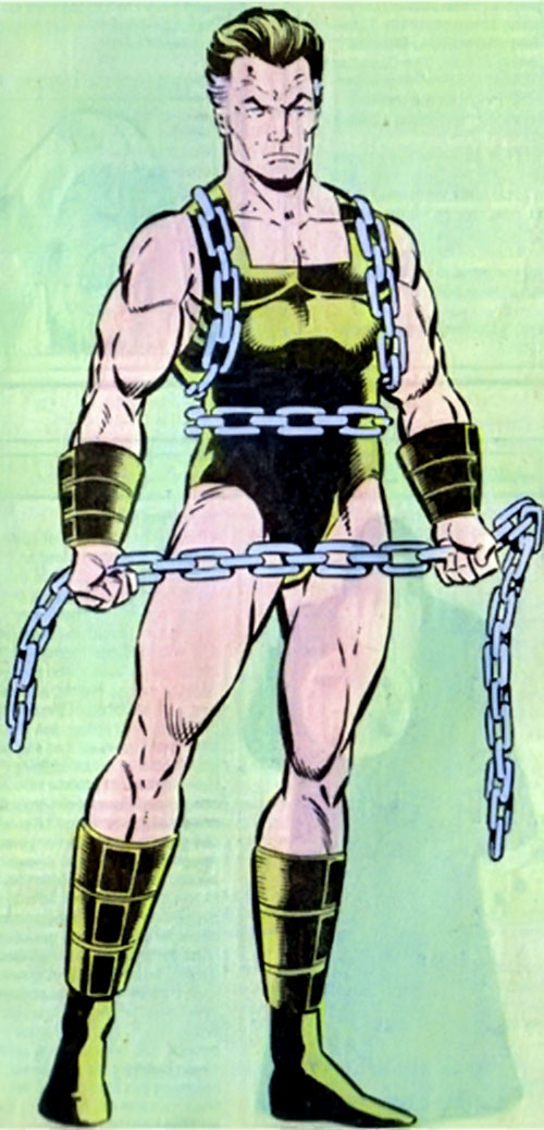 Grimbor (Legion of Super-Heroes enemy) (DC Comics) in his vintage costume