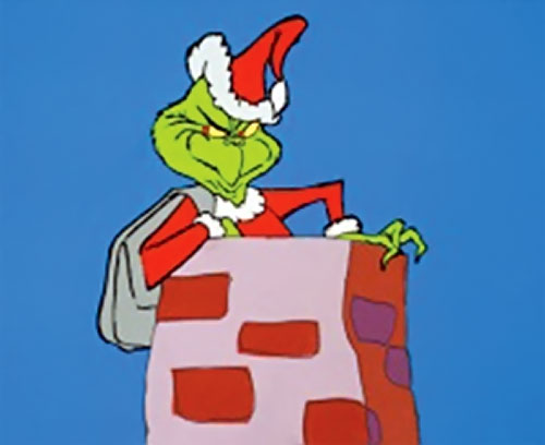 The Grinch 1966 movie Boris Karloff Dr Seuss Character