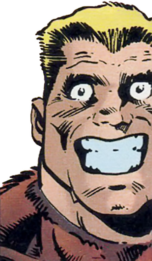Grizzly (Marvel Comics) face closeup