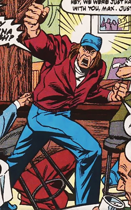 Grizzly (Marvel Comics) in his civvies