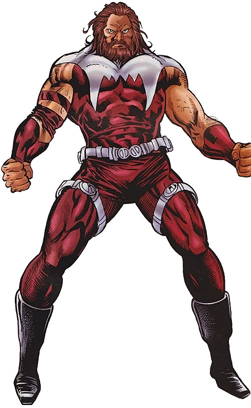 Grizzly (Marvel Comics) with the Consultant-designed costume