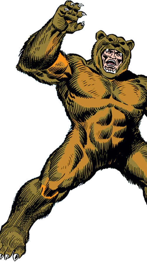 Grizzly (Marvel Comics) (Spider-Man character)