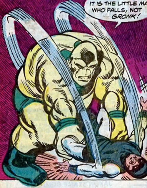 Gronk of the Minions of Maelstrom (Marvel Comics) vs. Karnak