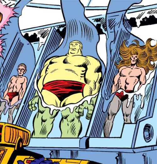 Gronk and the Minions of Maelstrom (Marvel Comics)
