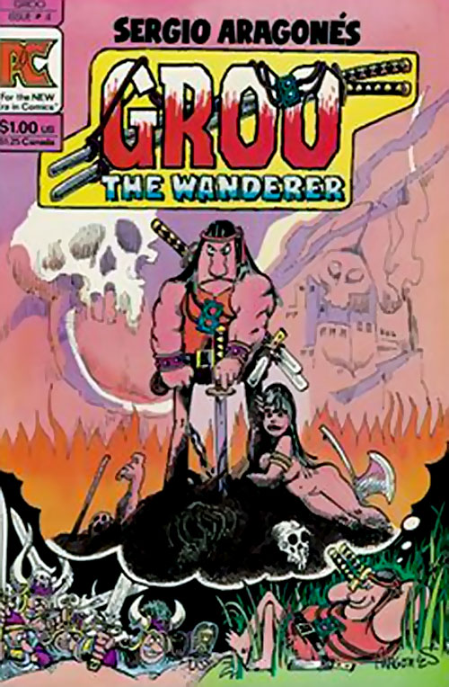 Groo the Wanderer cover (Epic Comics)