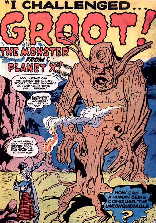 Groot (Marvel Comics) (Vintage Silver Age version)