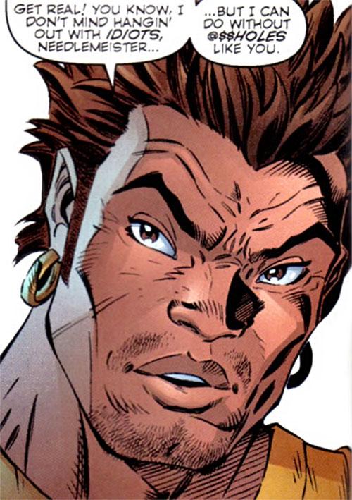 Grunge (Gen 13) (Image Comics) face closeup