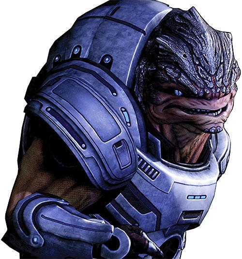 Grunt (Mass Effect 2) reacting high-res