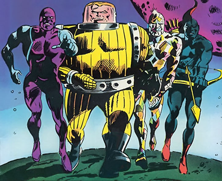 The earliest, original Guardians of the Galaxy