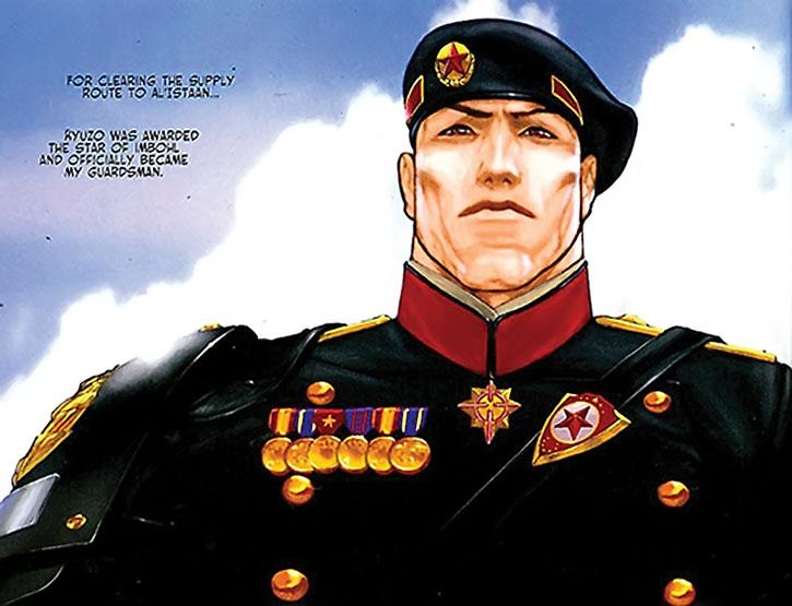 Kyuzo in his graduation uniform