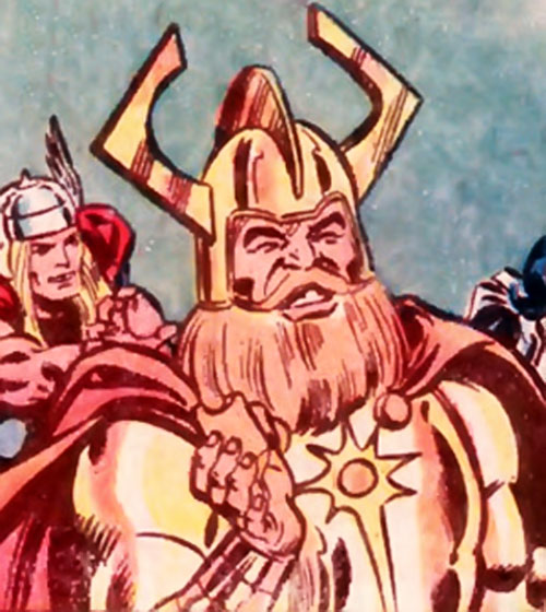 Gudrun the Golden (Hostess Comics) and Thor