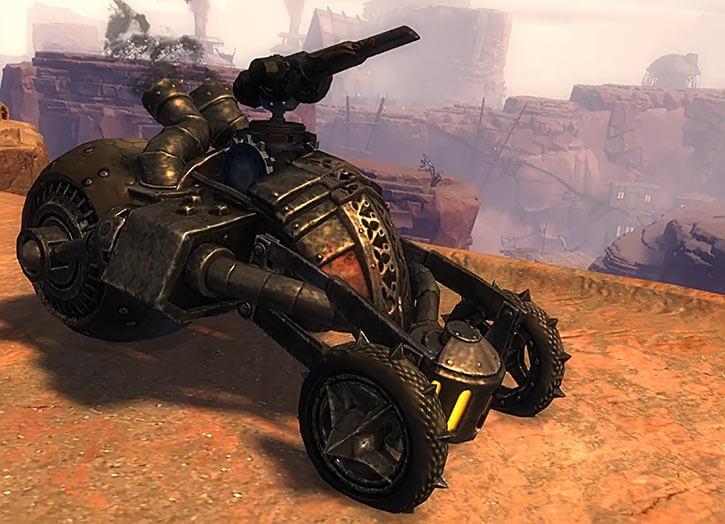 Guild Wars 2 - Charr tank mortar