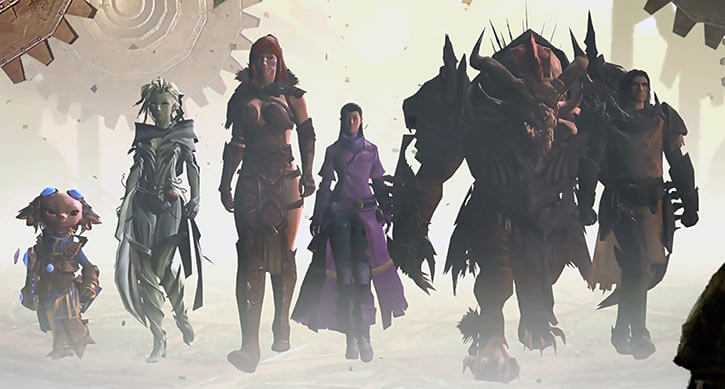 Guild Wars 2 - Destiny's Edge and player character game finale