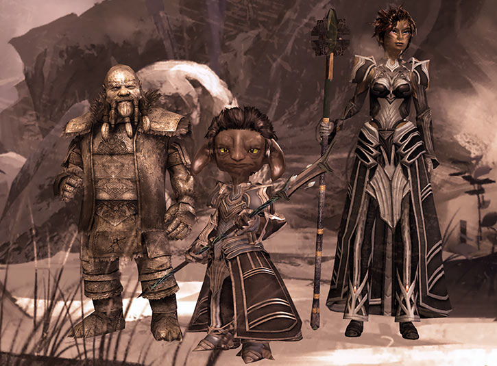 Guild Wars 2 - Durmand Priory leaders