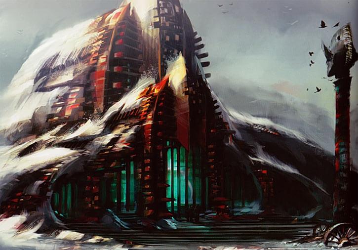 Guild Wars 2 - Great Lodge of Hoelbrak
