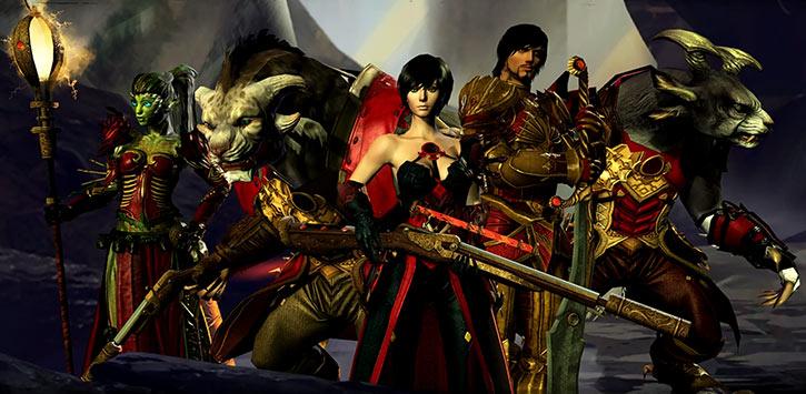 Guild Wars 2 - Order of Whispers leaders