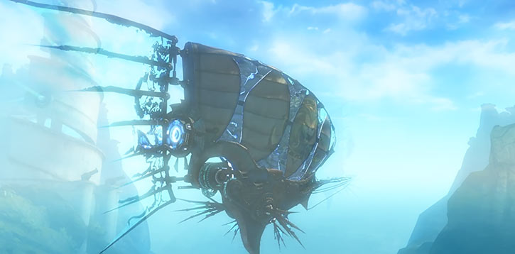 Guild Wars 2 - Pact airship early sighting