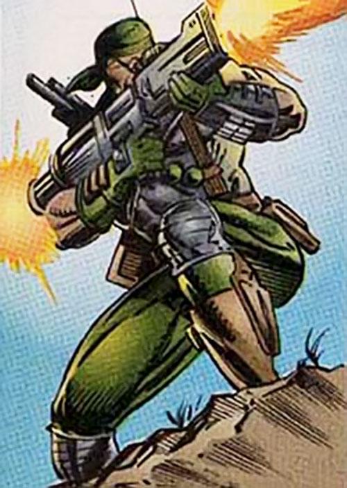 Gun Nut (Ultraverse comics) (Hardcase enemy)