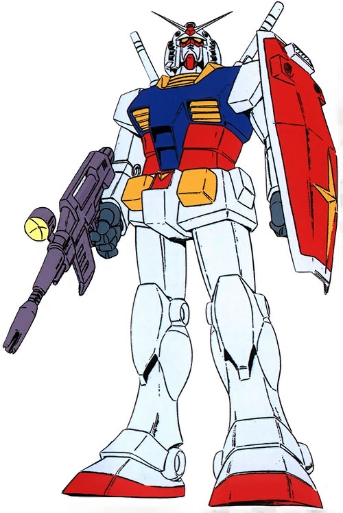 Gundam RX 78 mobile suit