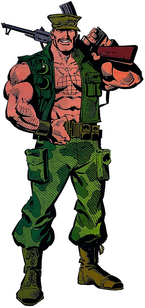 Gung-Ho - G.I. Joe - Marvel comics