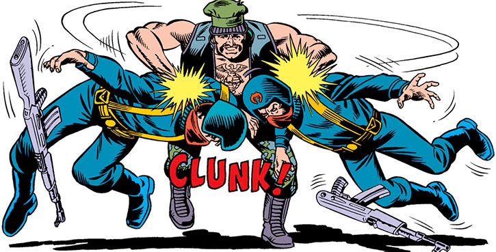 Gung-Ho - G.I. Joe - Marvel comics - Brawling 2