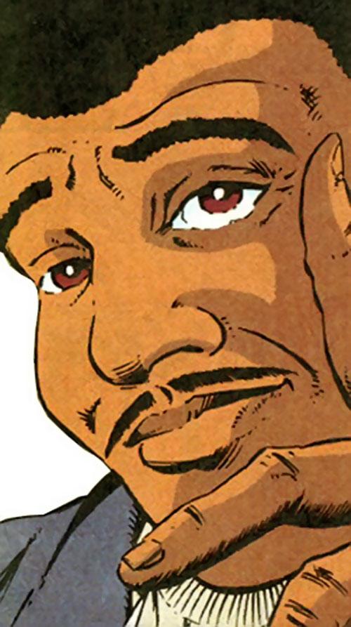 Carson Rowntree aka Gunship (Marvel Comics)