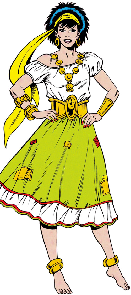 Gypsy of the JLA Detroit (DC Comics)