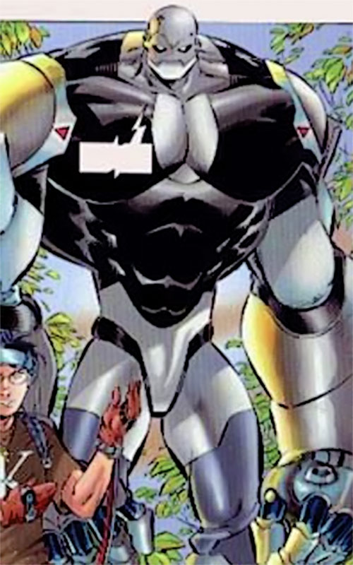 Geek's HERB android of Black Ops (Image Comics)