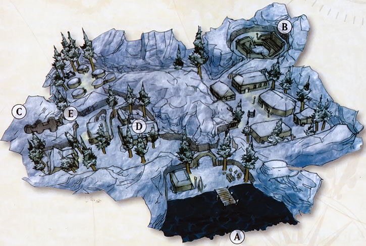 Halas Everquest 1 map Myrist