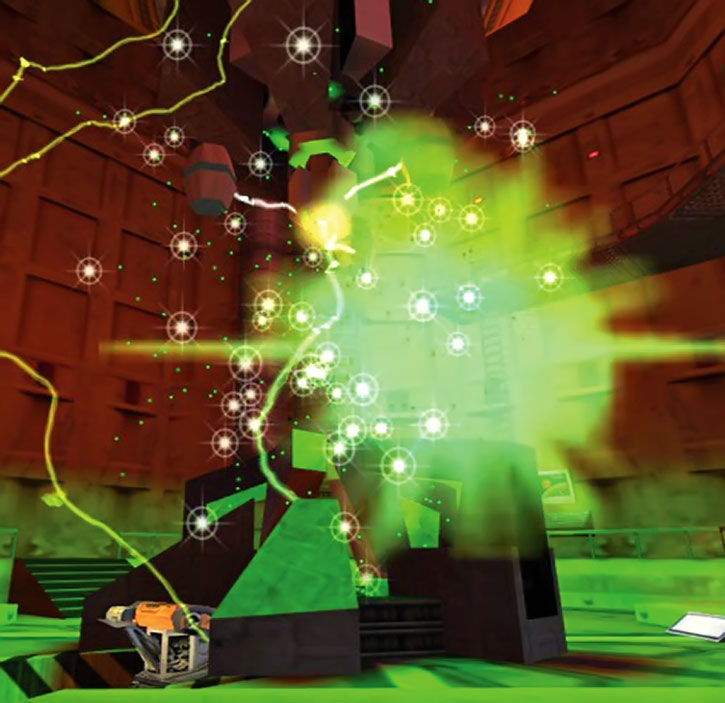 Resonance cascade in Black Mesa