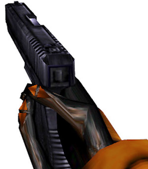 Half-Life video game glock