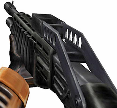 Half-Life video game SPAS shotgun