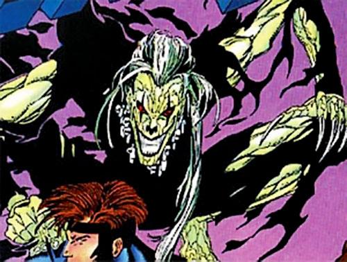 Halloween Jack (X-Men 2099 enemy) (Marvel Comics) and Meanstreak